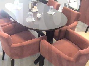 Modern Kumas Kaplama Sandalye